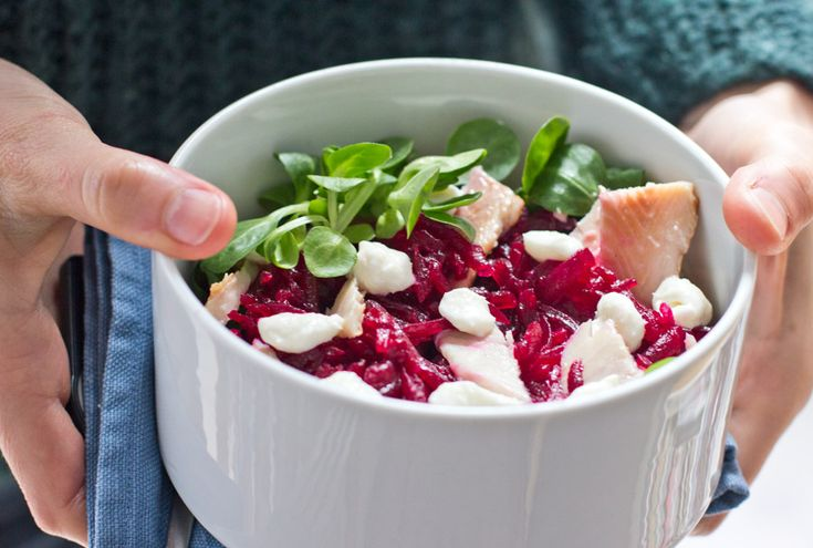 Beet root and smoked trout salad recipe