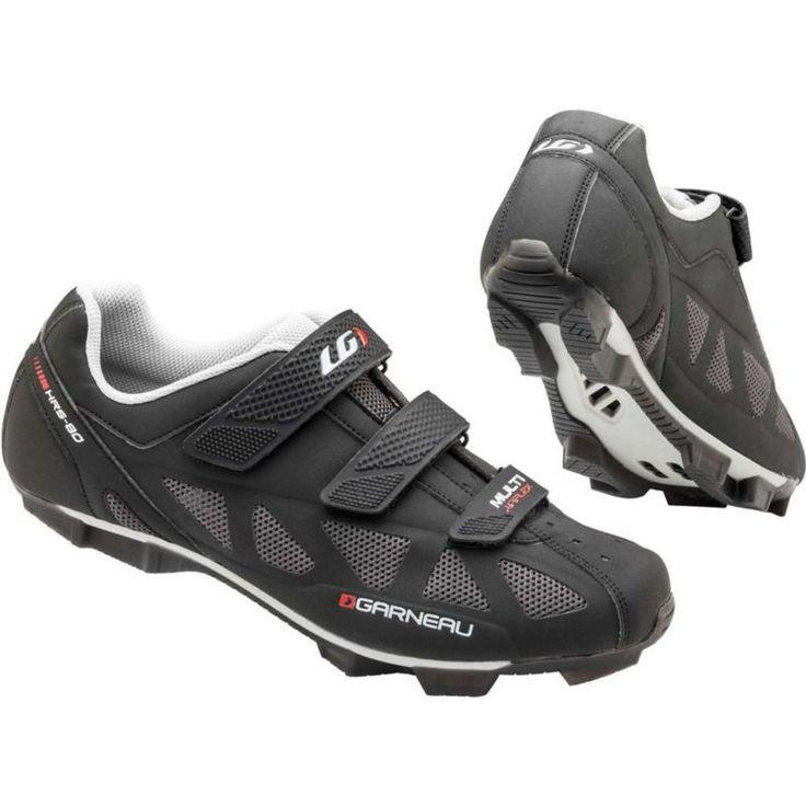 Louis Garneau Men's Multi Air Flex Cycling Shoes, Black