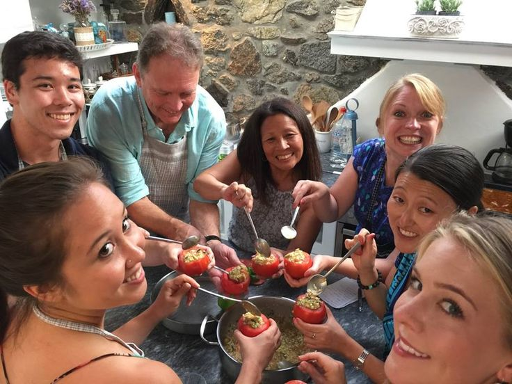 Greek Cooking Class with #MykonianSpiti