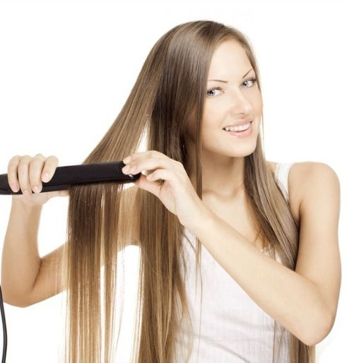 7 tips for straightening your hair and avoiding damage. Pin now read later