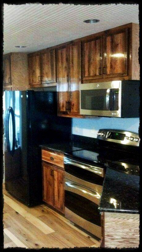 Custom Barn wood Cabinets created by Black Sheep Custom Interiors