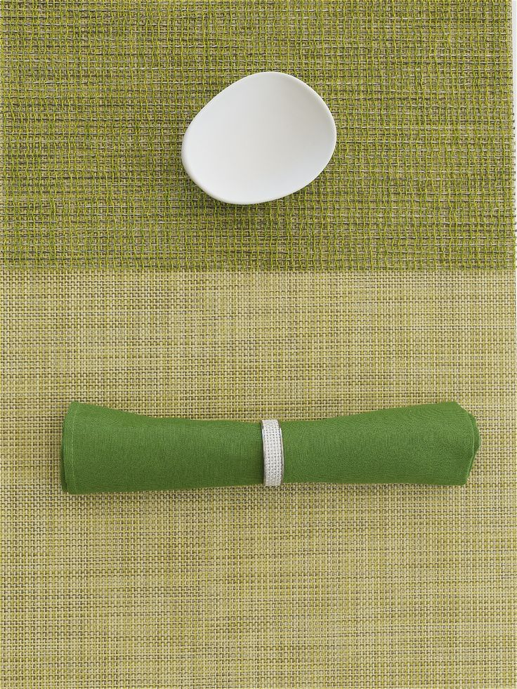 Single Sided Napkin in Grass Square 12