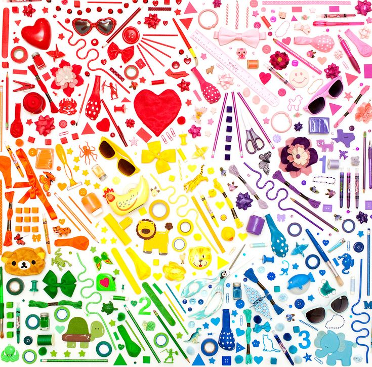 Lovely rainbow of things!: Crafts For Kids, Colour, Colorful Wallart, Everyday Rainbow, Beautiful Colors, Colormekatie Blogspot Com, Colorful Rainbows