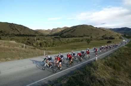 You can start the Tour of New Zealand at Cape Reinga or Bluff and the finish is celebrated with North and South Island riders meeting in Wellington for a criterium on a short circuit through the Parliament grounds. See www.tourofnewzealand.co.nz for more info.