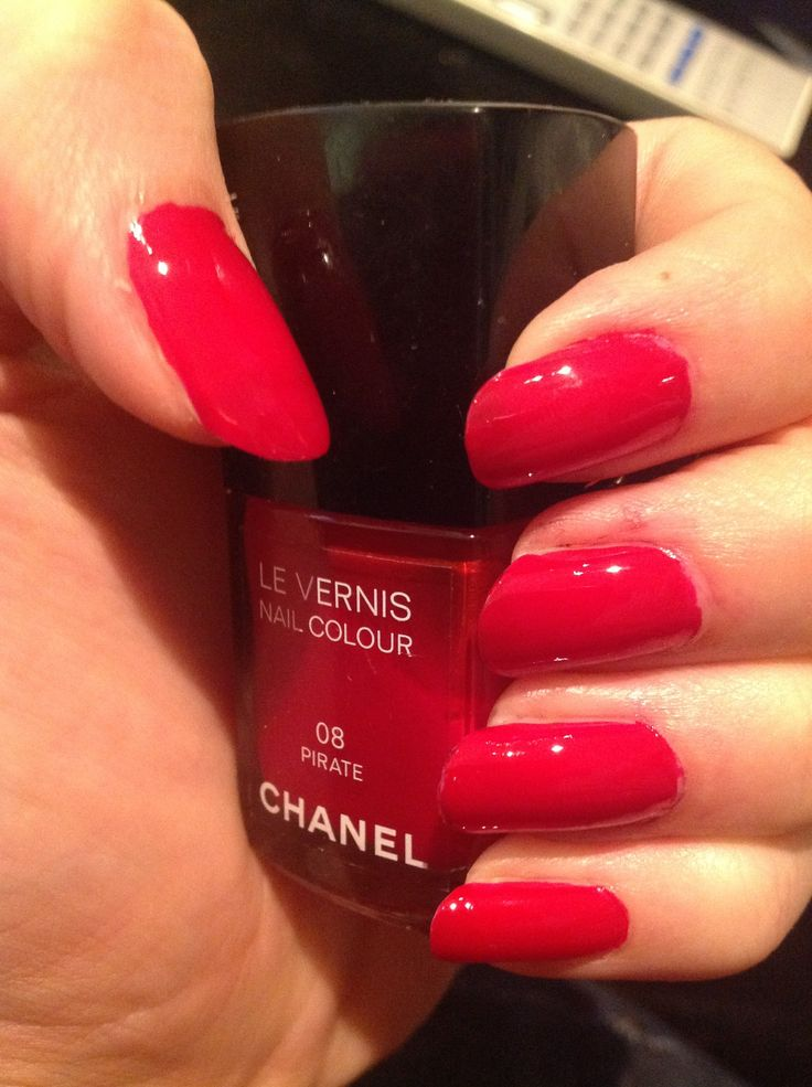 Chanel nails - 08 pirate