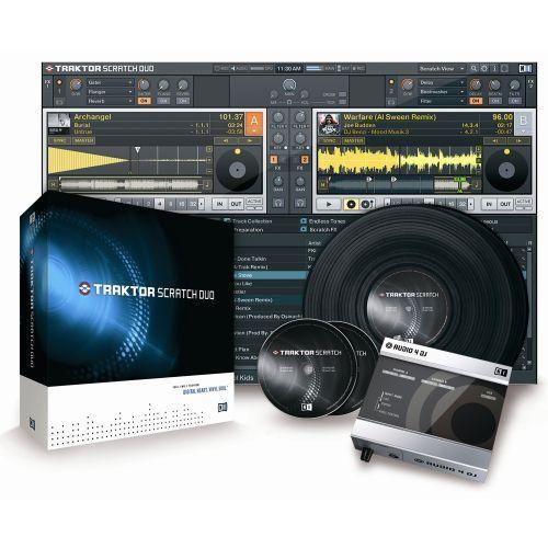 Native Instruments TRAKTOR SCRATCH DUO DJ Software/Hardware Package