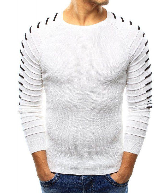 Pánsky biely sveter
