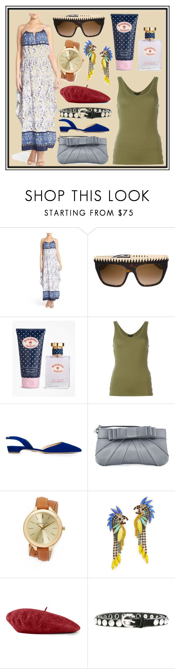 """""""Latest Trends"""" by cate-jennifer ❤ liked on Polyvore featuring Fraiche By J, STELLA McCARTNEY, Brooks Brothers, Alexander Wang, Paul Andrew, Love Moschino, Michael Kors, Elizabeth Cole, Gucci and Diesel"""