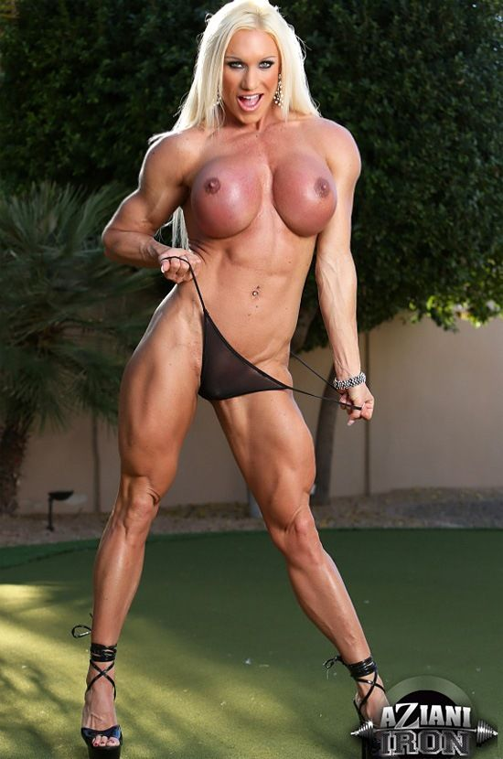 Muscle Woman Naked Sexy 33