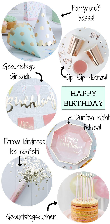 Let S Party Partydeko Geburtstag Frau Party Deko Happy Birthday