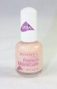 Rimmel French Manicure Nail Varnish French Rose from Rimmel - Pedicure N Manicure - £4.01 - http://www.pedicurenmanicure.com/rimmel-french-manicure-nail-varnish-french-rose/