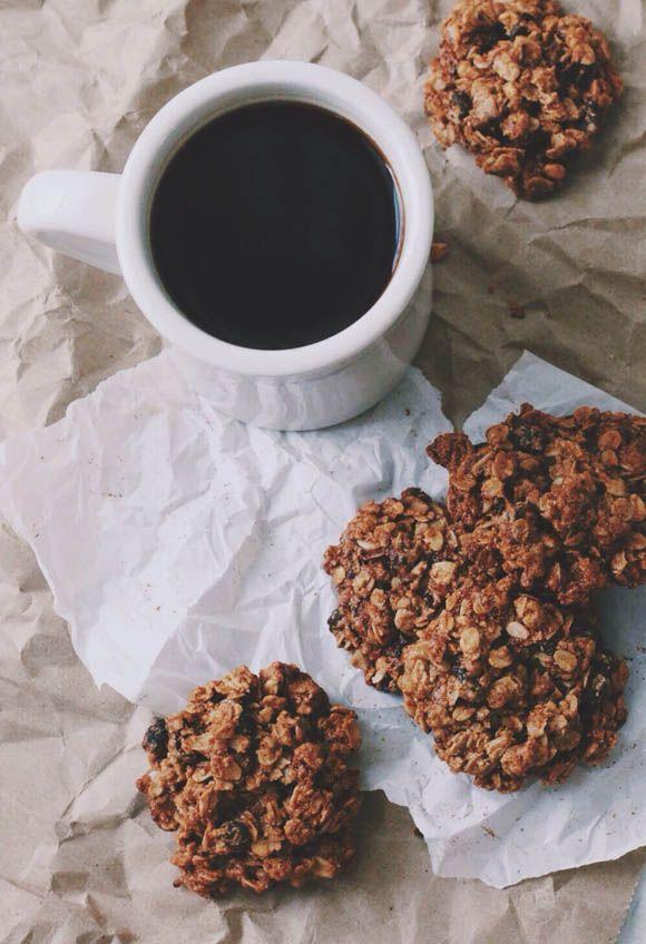 Oatmeal Cookies {Gluten-Free + Vegan}