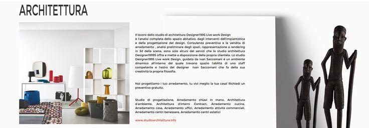 Designer1995 designer1995 group STUDIO CREATIVO. Nasce dalla volotà dell'architetto Ivan Saccomani per esigenze di seguire personalmente i siti del gruppo, dall'architettura,arredamento,arte e grafica.