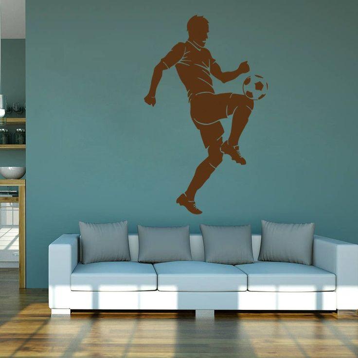 ik987 Wall Decal Sticker European football sports team game children's bedroom