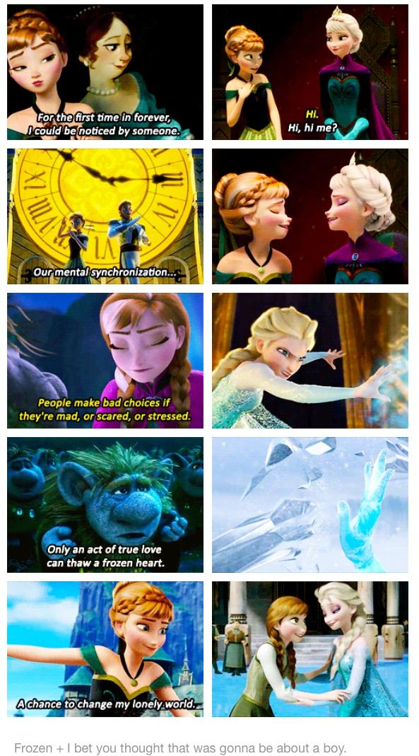 You thought it was about meeting a boy. #frozen #disneyprincess