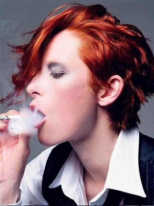 Tilda Swinton- maybe I'll dye my hair red