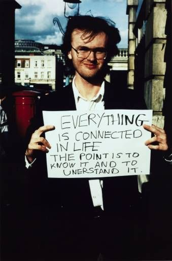 Gillian Wearing OBE, ''Everything is connected in life...'' 1992–3
