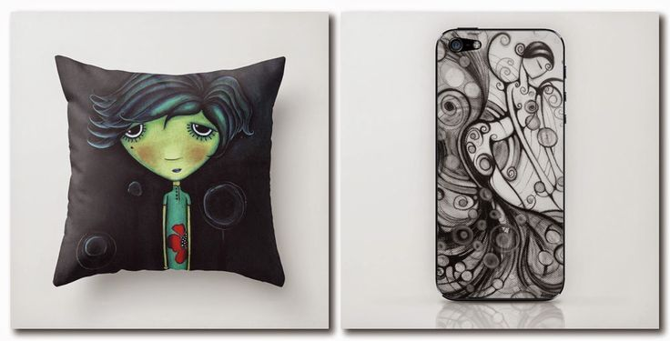 Sandra Mucciardi : Check out my shop at SOCIETY6!