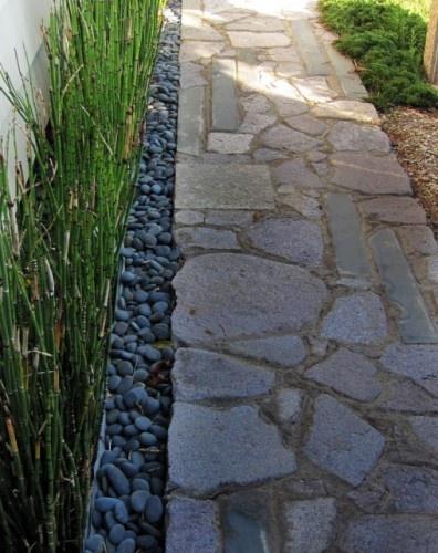 .Ideas, Asian Landscapes, Small Backyards, Rivers Rocks, Side Yards, Gardens Design, Beds Design, Gardens Pathways, Front Walkways