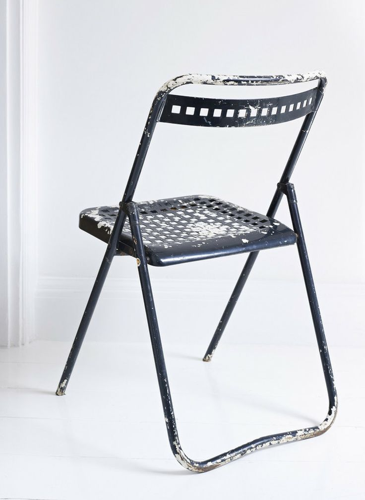 Black Metal Folding Chairs 107 best folding/leaning/smart images on pinterest | folding chair