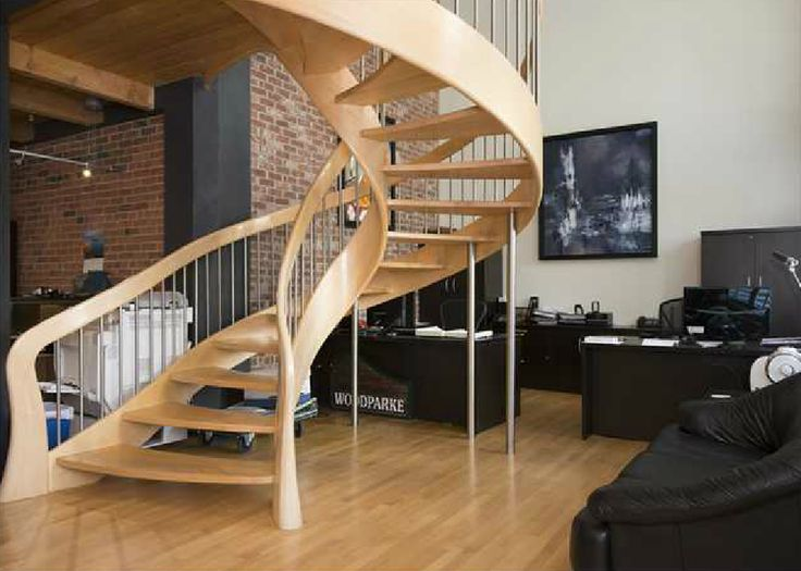 Manhattan Loft With Custom Staircase.