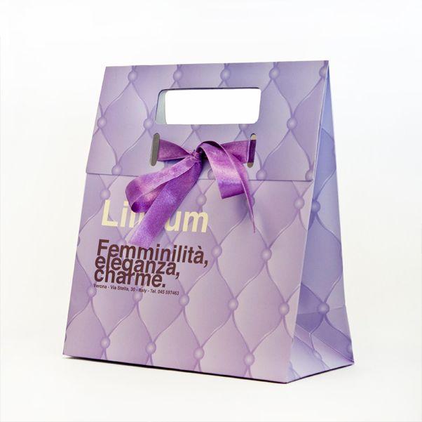 Gift bag for Lillum / Giustacchini Packaging