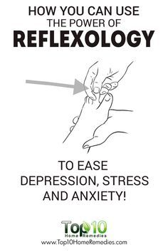 How You Can Use Reflexology to Ease Depression, Stress and Anxiety!