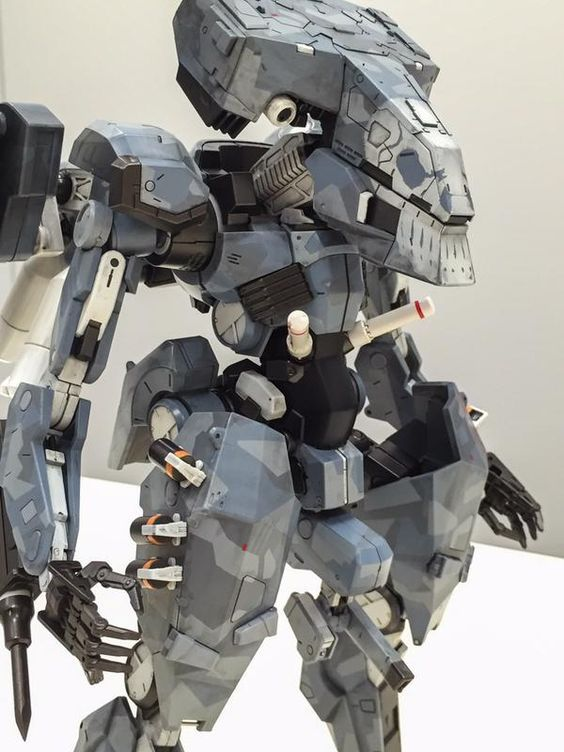 Metal Gear Solid 5 The Phantom Pain: ST-84 Metal Gear (Sahelanthropus) by Sentinel: Preview MANY Official Images http://www.gunjap.net/site/?p=273073: