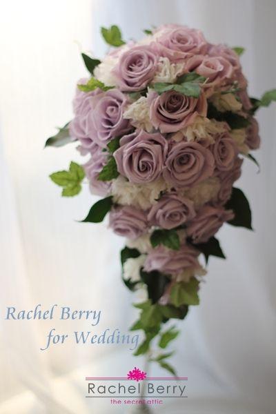 wedding bouquet in lavender|Rachel Berry the Secret Attic