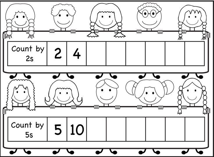skip count by 5 worksheet kids