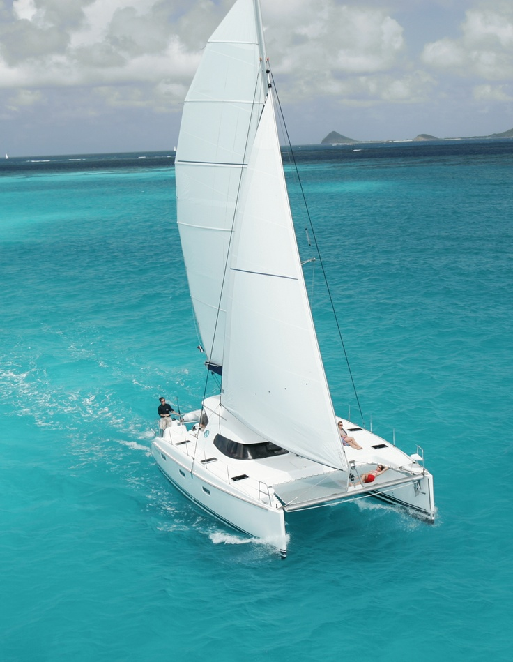 My husband and I sailed on a catamaran in Aruba during our honeymoon and went snorkeling :)