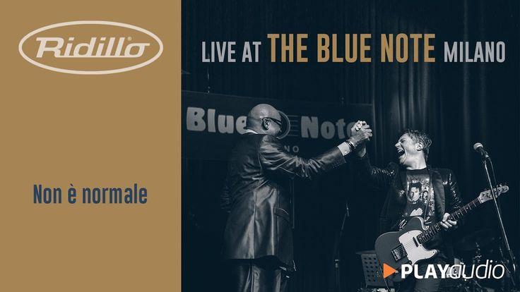 Non E' Normale (It´s Not Unusual) - Ridillo Live At The Blue Note Milano...