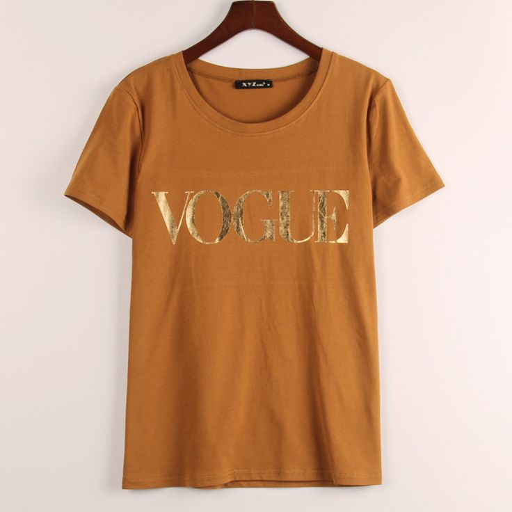 Women VOGUE Printed T-shirt