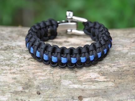 Regular Survival Bracelet Police Hero Picture Pinterest Bracelets Cop Wife And Support Law Enforcement
