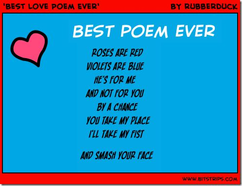 Rhyming poems for girlfriend