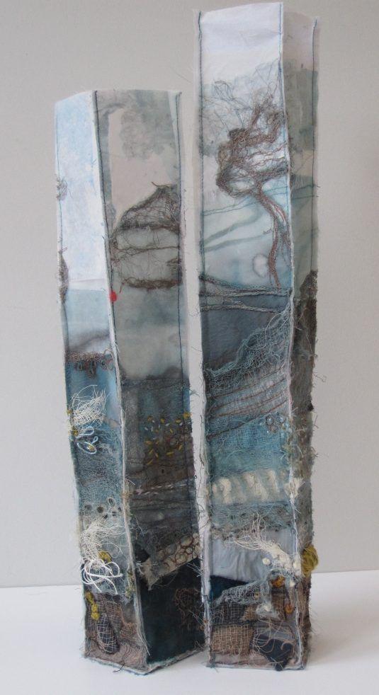 Marian Jazmik | MIXED MEDIA TEXTILE ART – Inspired by the natural environment.