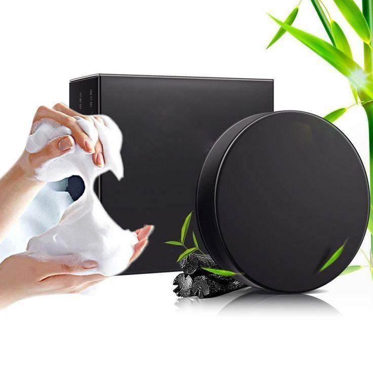 25 + › Handgemachte Seife Bambuskohle Hautpflege Mitesser Entferner Akne-Behandlung …