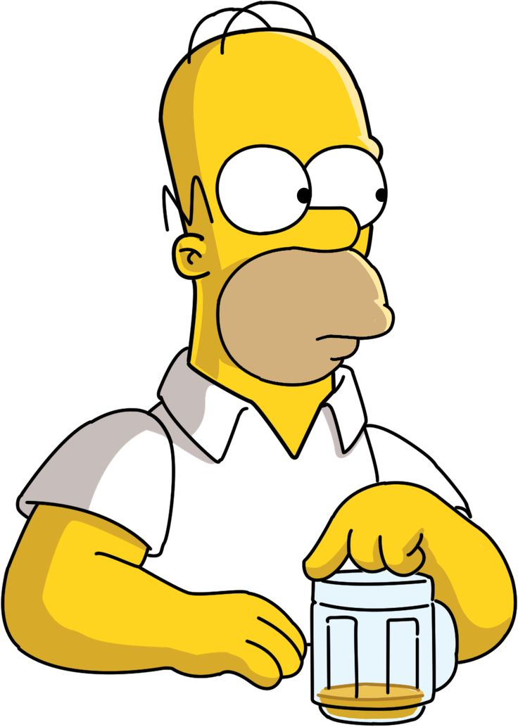 Homer Simpson | Homer_Simpson_Vector_by_bark2008.png