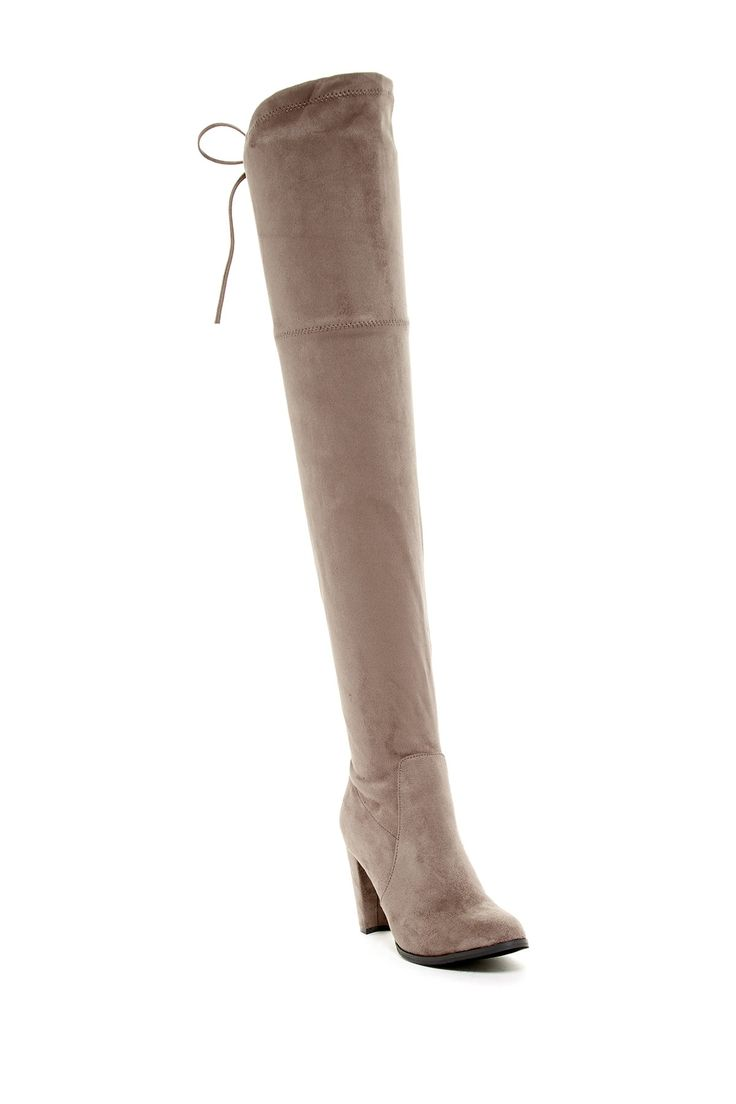 Sorcha Faux Fur Footbed Over-The-Knee Boot by Catherine Catherine Malandrino on @nordstrom_rack