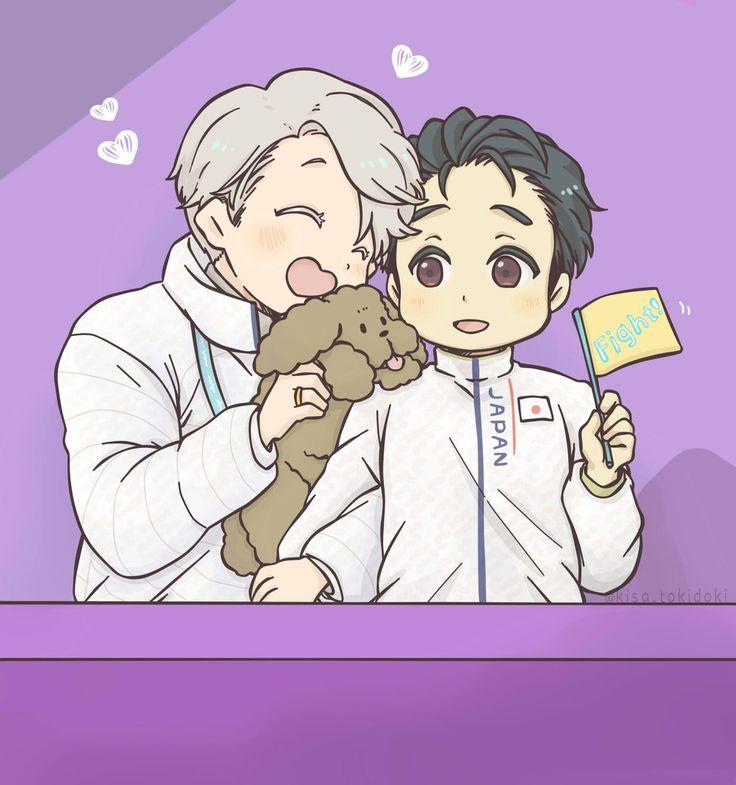 Kawaii Victor x Yuri