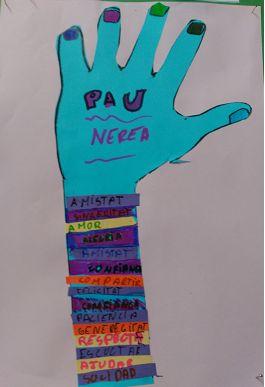 manos por la paz inspiracin warhol