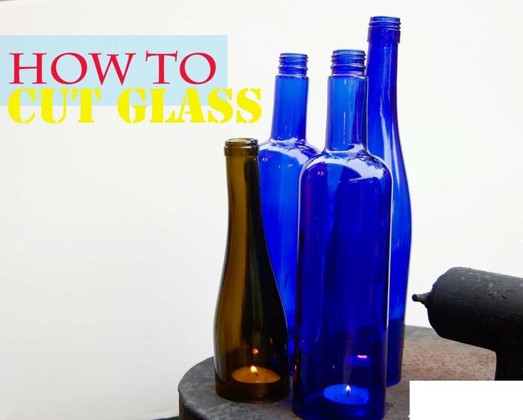 81 best bottle art images on pinterest glass wine for Glass cutter for wine bottles