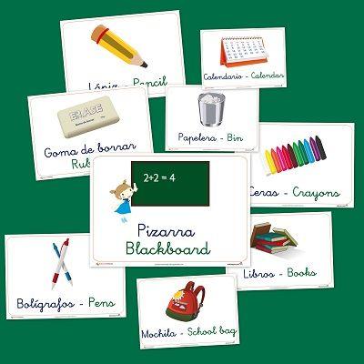 Vocabulario en imágenes: El colegio