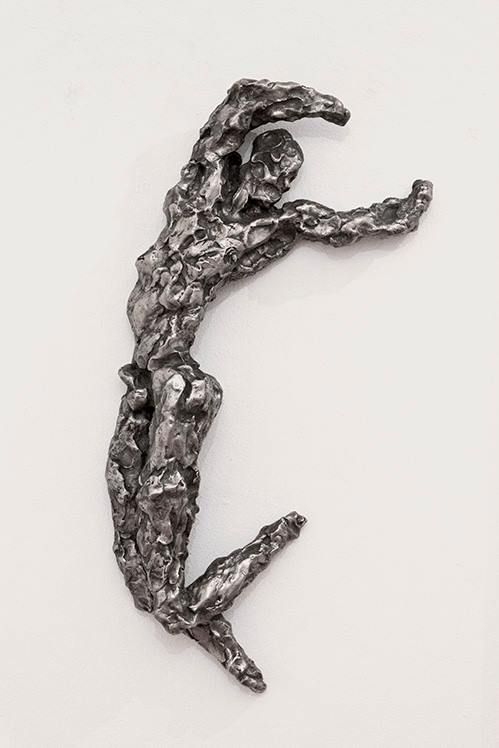 Rainer Fetting - Desmond, streching, 2003, German silver, Bronze, 11 x 73 x 30 cm, Edition 3/9.  //at Egbert Baqué Contemporary Art, Berlin: Take A Walk On The Wild Side. To Russia with Love. And to Lou Reed.