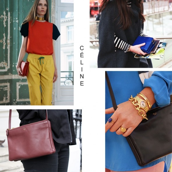 Celine Trio Bag | New Bag | Celine Trio | Pinterest | Celine ...