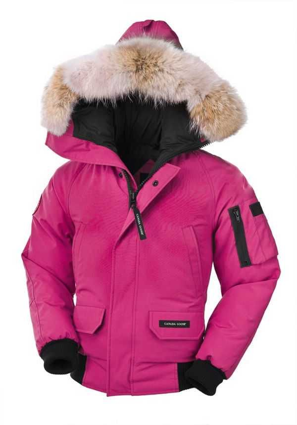 Canada Goose Chilliwack Bomber Summit Pink Youth's For Sale