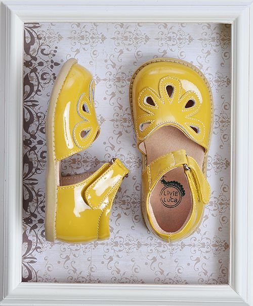 Livie & Luca Girls Petal Shoes in Yellow-just bought these in three colors for the girls. ADORBS!!!