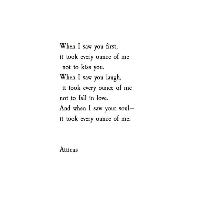 "Atticus Poetry on Twitter: ""'Every Ounce' @Atticuspoetry #Atticuspoetry #atticus #poetry #poem #quote #love #kiss #laugh #soul #la #nyc #miami https://t.co/uSHRLP2KIf"""