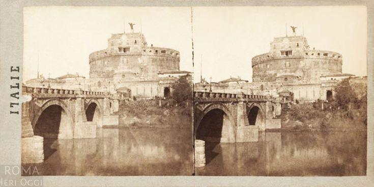 Castel Sant'Angelo (Henri Plaut, 1859)