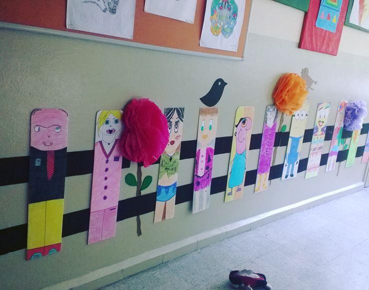 Okul koridorumuzdan